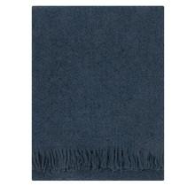 CORONA UNI - Wollen Plaid - Blauw - 130x170