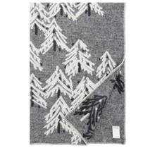 KUUSI - Couverture en laine - Gris - 130x200
