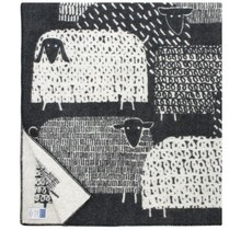 PÄKÄPÄÄT - Couverture en laine - Noir - 130x180