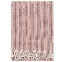KAARNA - Wool Blanket - Rosa - 130x170