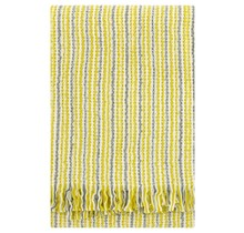KAARNA - Wool Blanket - Yellow - 130x170