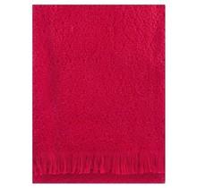 CORONA UNI - Wool Blanket - Red - 130x170