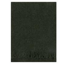 CORONA UNI - Шерстяное одеяло - Лесной зеленый - 130x170