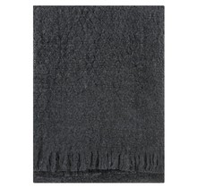 CORONA UNI - Wool Blanket - Dark Grey - 130x170