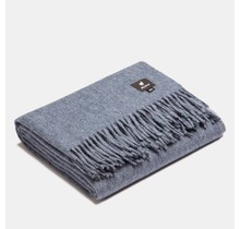 ALPAKA, Classic, Alpaca-wollen Plaid blue – 150 x 200