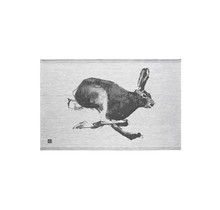 JÄNIS - Кухонное полотенце - Черный / Серый - 46x70