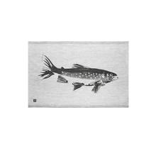 RAUTU - Kitchen Towel - Black/Grey - 46x70