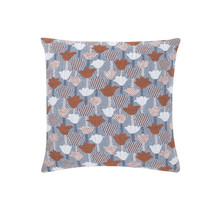 TULPPAANI - Cushion - Cinnamon/Blue - 45x45