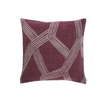 HIMMELI - Cushion - Bordeaux - 50x50
