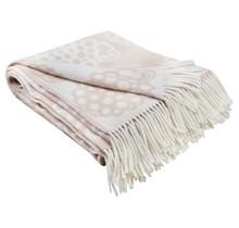 PÄSSI - Wool Plaid - Beige - 130x170