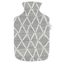 PUIKKO - Бутылка с горячей водой - Серый / Белый