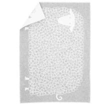 KILI - Wool Baby Blanket - Grey - 65x90