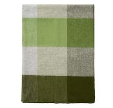 BLOCK  - Шерстяной плед - Зеленый - 130x180