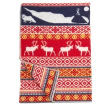 SAREK - Wool Plaid - Red - 130x180
