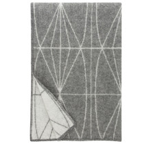 KEHRÄ  - Шерстяной плед - Серый - 130x180