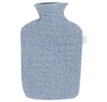SARA - Бутылка с горячей водой - Синий / Белый