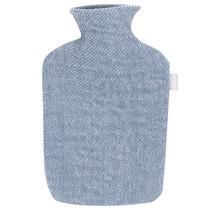 SARA - Hot Water Bottle - Blue/White
