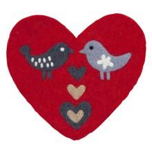 LOVE BIRDS - Pot holder - Hartform - 21x20