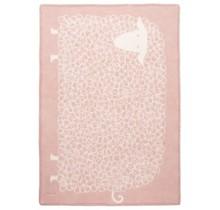 KILI - Wool Child Blanket - Pink - 90x130