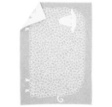KILI - Wool Child Blanket - Grey - 90x130