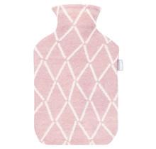 PUIKKO - Wärmeflasche - Pink/Weiss