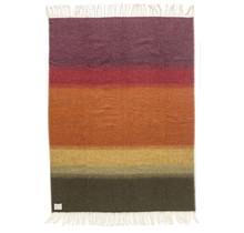 FLOI - Wollen Plaid - 130x180 - Multicolor
