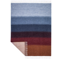 HUM - Woolen Blanket - 130x180 - Multicolor