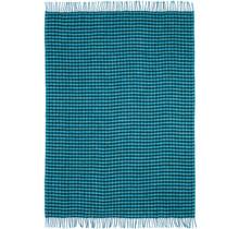 JOKULBLAMI - Одеяло шерстяное - 110x170 - Синий / Зеленый