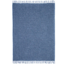SKURASKY - Wollen Plaid - 110x170 - Blau