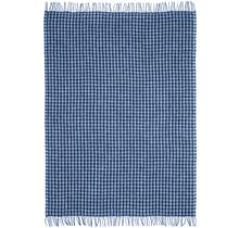 SKURASKY - Woolen Blanket - 110x170 - Blue