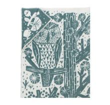 METSIKKO - Wool Blanket - Green - 130x180