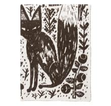 METSIKKO - Шерстяное одеяло - Коричневый - 130x180