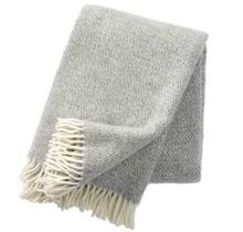 STELLA - Шерстяной плед - Светло-серый - 130x200