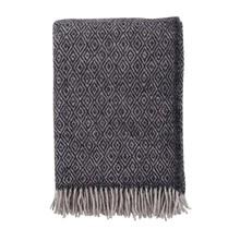 STELLA - Wool Plaid - Dark Grey - 130x200