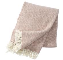 STELLA - Wool Plaid - Pink - 130x200