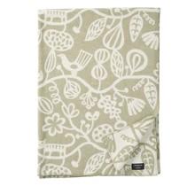 BOTANICAL GARDEN - Wool Plaid - Green - 130x180