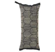 PAANU - Подушка для ванны и сауны - Черный / Лен - 46x20