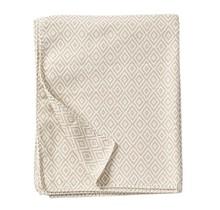 STELLA - Cotton Plaid - Beige - 140x180