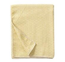STELLA - Хлопковый плед - Желтый - 140x180