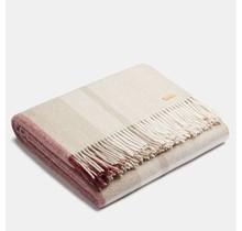 ALPAKA - Classic Check - Plaid en laine d'alpaga - Rosé / Beige - 150 x 200