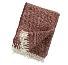 STELLA - Wool Plaid - Rust - 130x200