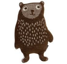 LITTLE BEAR, katoen - Bruin - 32cm hoog
