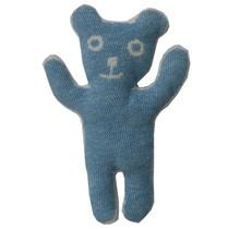 BRUNO, coton - Bleu - 28cm de hauteur