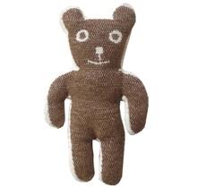 BRUNO, cotton - Brown - 28cm tall