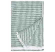 MAIJA - Couverture en coton - Vert - 130x200