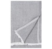 MAIJA - Cotton blanket - Grey - 130x200