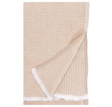 MAIJA - Cotton blanket - Cinnamon - 130x200