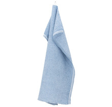 MAIJA - Handdoek - Keukendoek - Regenblauw - 48x70