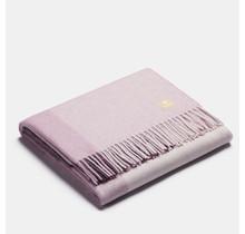 ALPAKA - Классический квадратный градиент - Шерстяной плед из альпаки - Пурпурный - 150 x 200