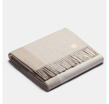 ALPAKA - Classic Gradient Square - Alpaca-wollen Plaid – Beige – 150 x 200